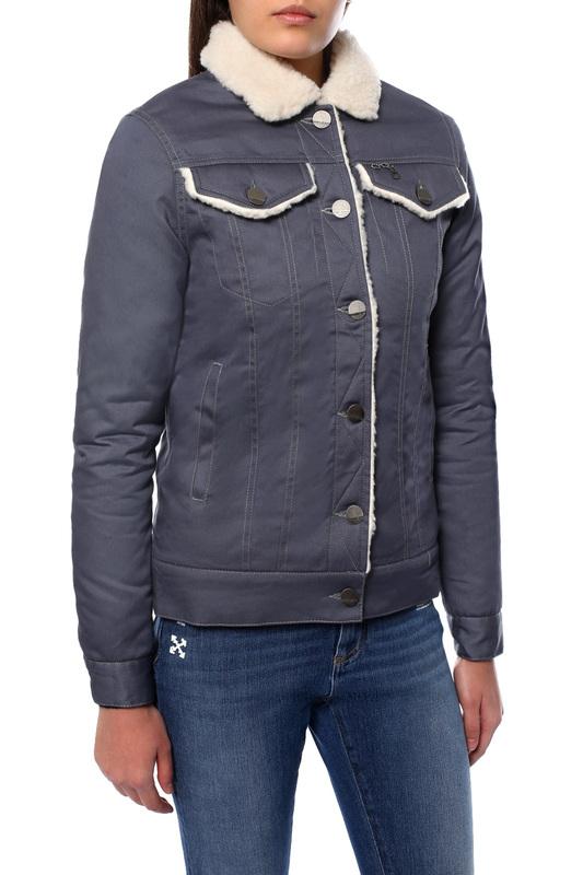 Джинсовая куртка женская DASTI 482DS20191985 серая XS