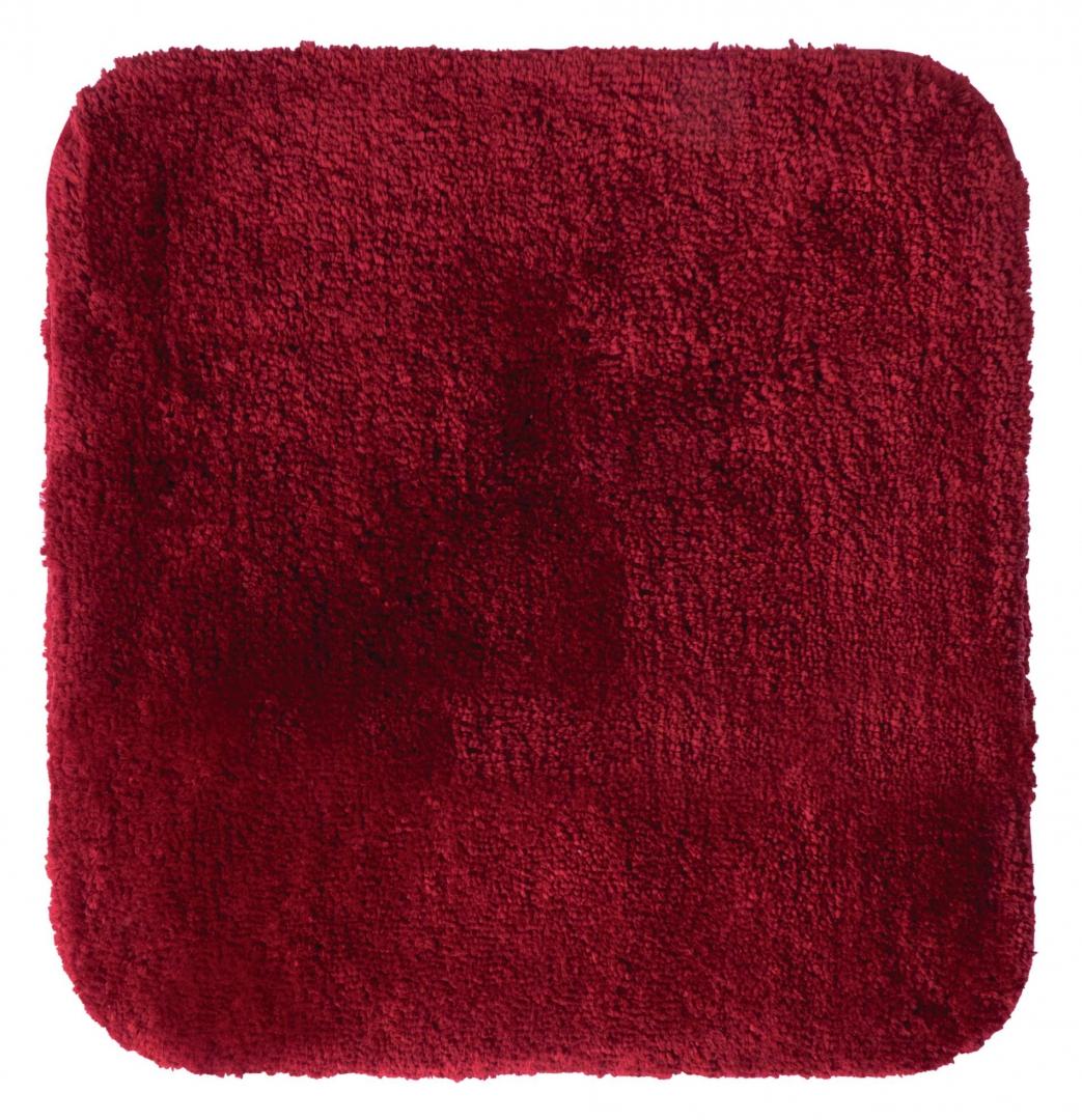 Коврик для ванной комнаты Chic красный 55*50