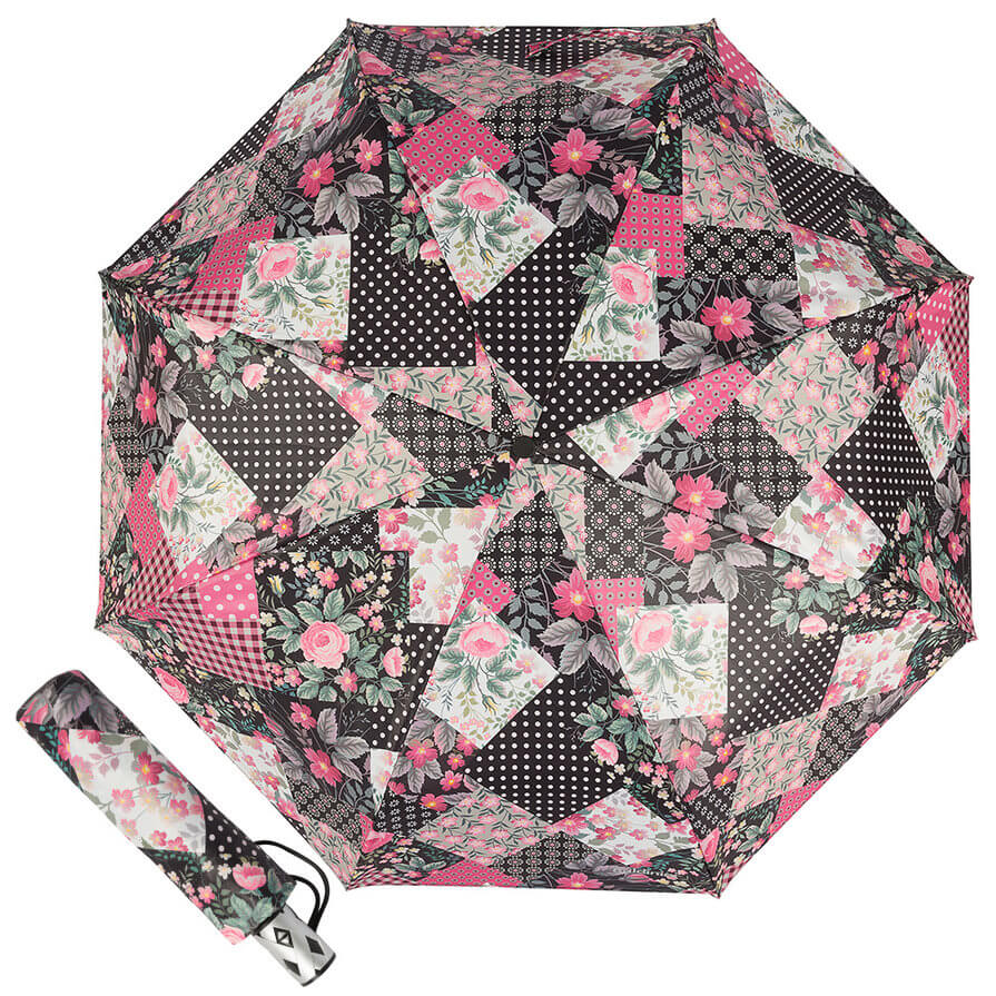 Зонт складной женский Baldinini 50-OC Patchwork
