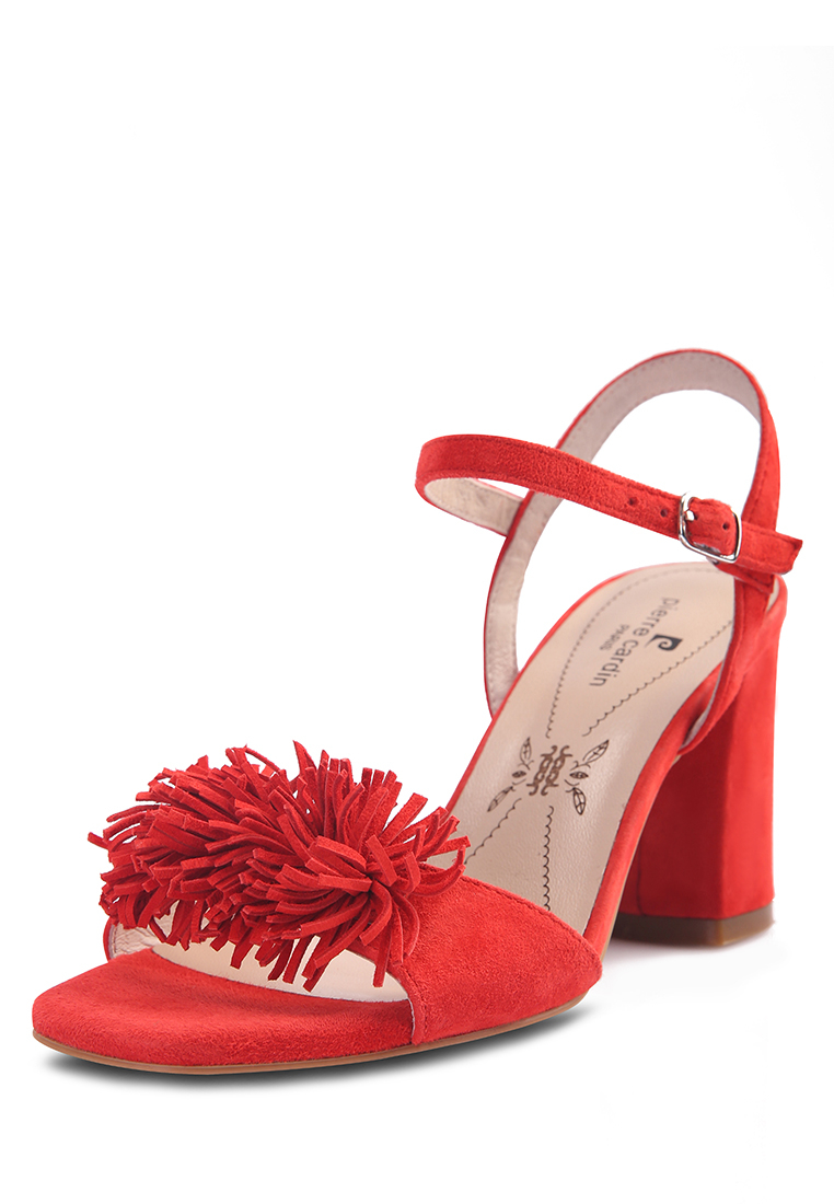 Босоножки женские Pierre Cardin 710017519 красные