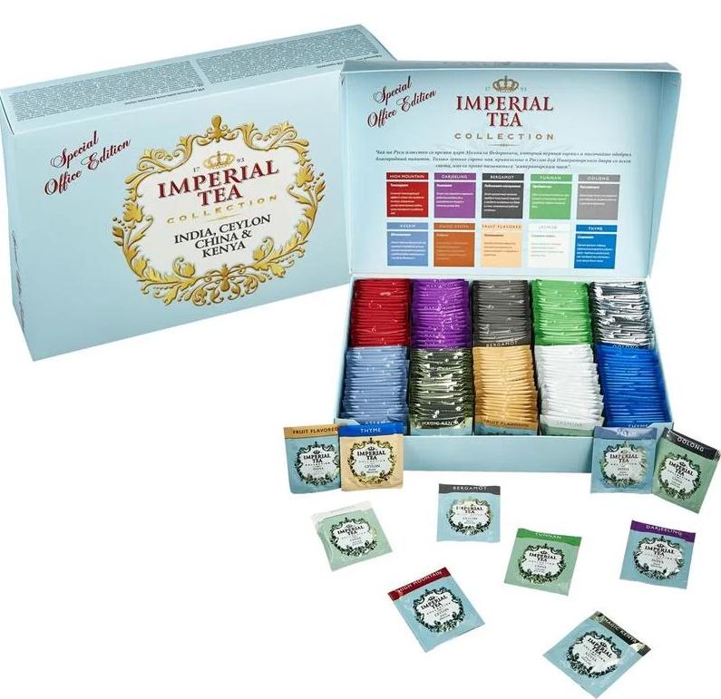 Чай Imperial Collection special office edition коллекционный 250 пакетиков фото