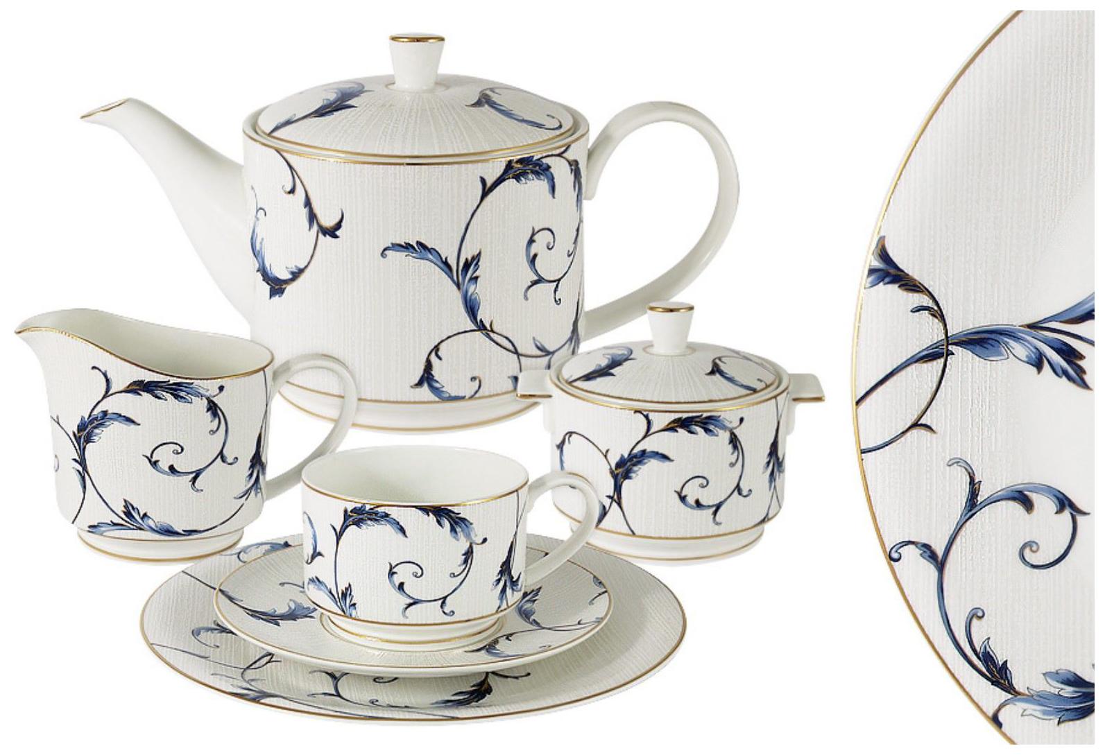 Чайный сервиз Anna Lafarg элегия 54557 6 пер.