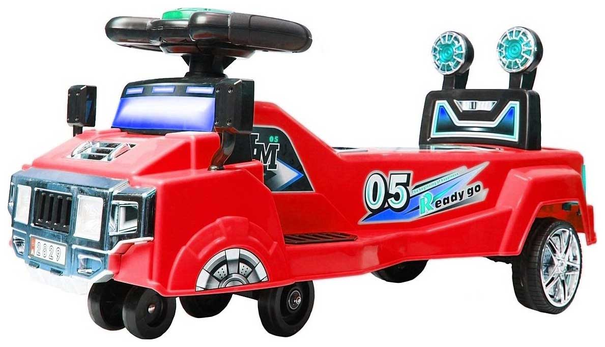 Купить Каталка-машина Y-Scoo Twister 2829 Red, Машинки каталки
