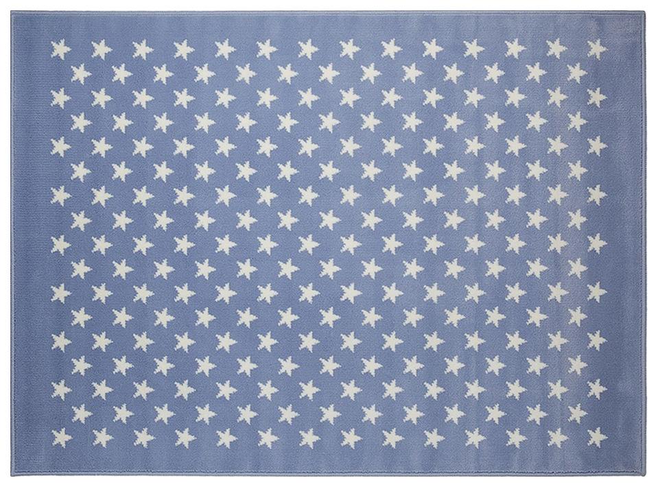Ковер Lorena Canals акриловый Звезды Stars Blue голубой