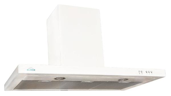 Вытяжка купольная Elikor Квадра 90П-650-К3Д White