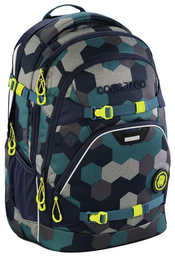 Рюкзак школьный Coocazoo ScaleRale Blue Geometric Melange синий Бирюзовый