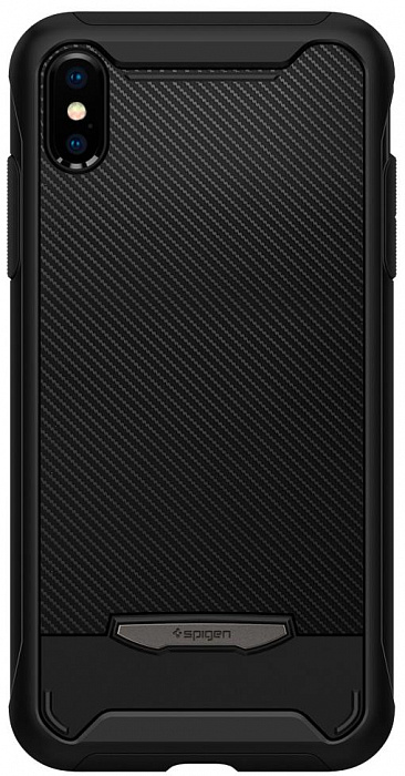 Чехол Spigen Hybrid NX (063CS24946) для iPhone X/Xs (Black)