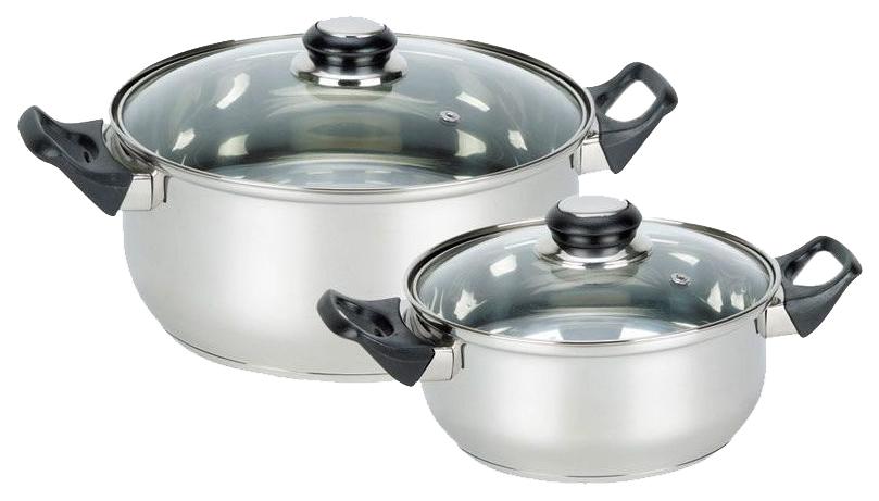 Набор посуды Mallony 981054 Серебристый