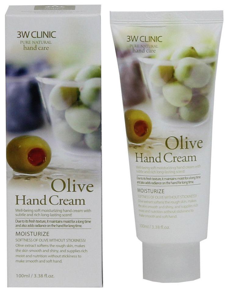 Купить Крем для рук 3W Clinic Olive Hand Cream 100 мл