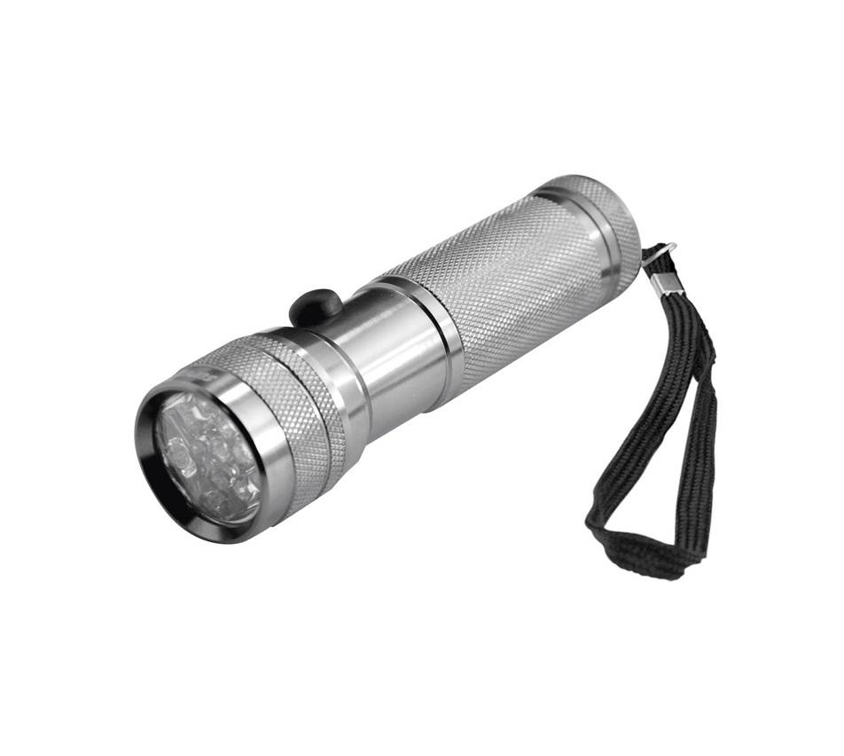 Туристический фонарь Космос 3712 С серебристый, 1 режим