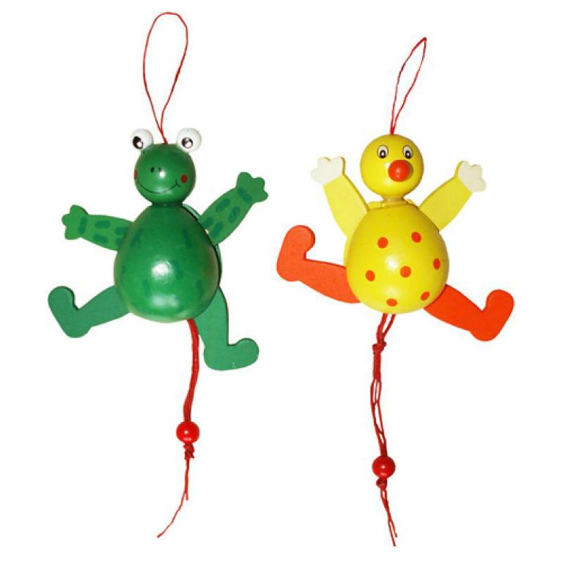 Купить Дергунчик QiQu Wooden Животные, QiQu Wooden Toys Factory, Развивающие игрушки