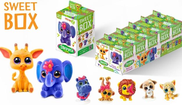 Мармелад Sweet Box коллекция 2 зверята 10 штук