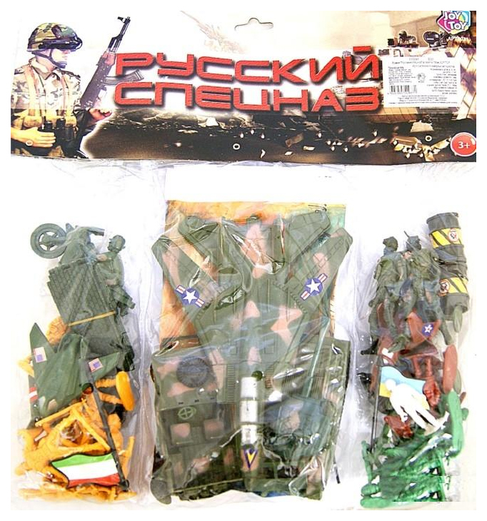 Купить Набор Play Smart Военной техники с солдатами Русский спецназ К35509, PLAYSMART, Военный транспорт