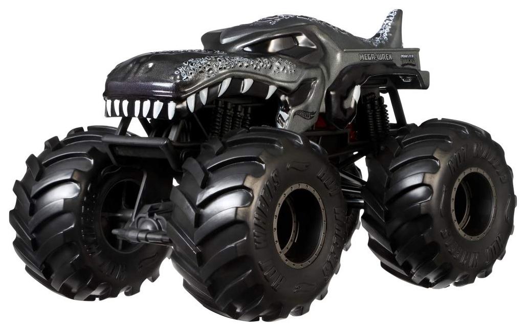 Купить Внедорожник игрушечный Mattel Hot Wheels GCX18 Хот Вилс Монстр трак 1:24 Мега Врекс, Игрушечные машинки