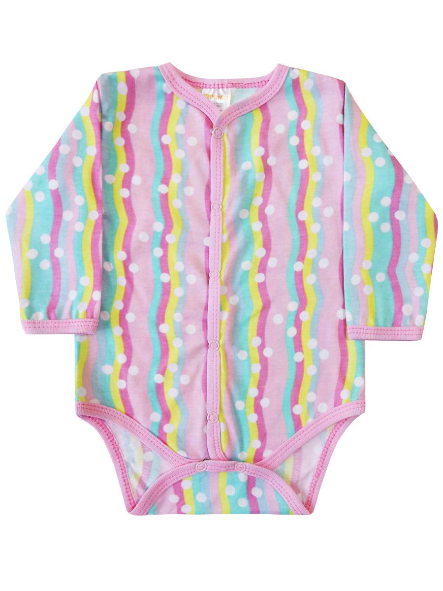 Купить Боди КотМарКот Радуга р.86 разноцветный, Боди и песочники для малышей