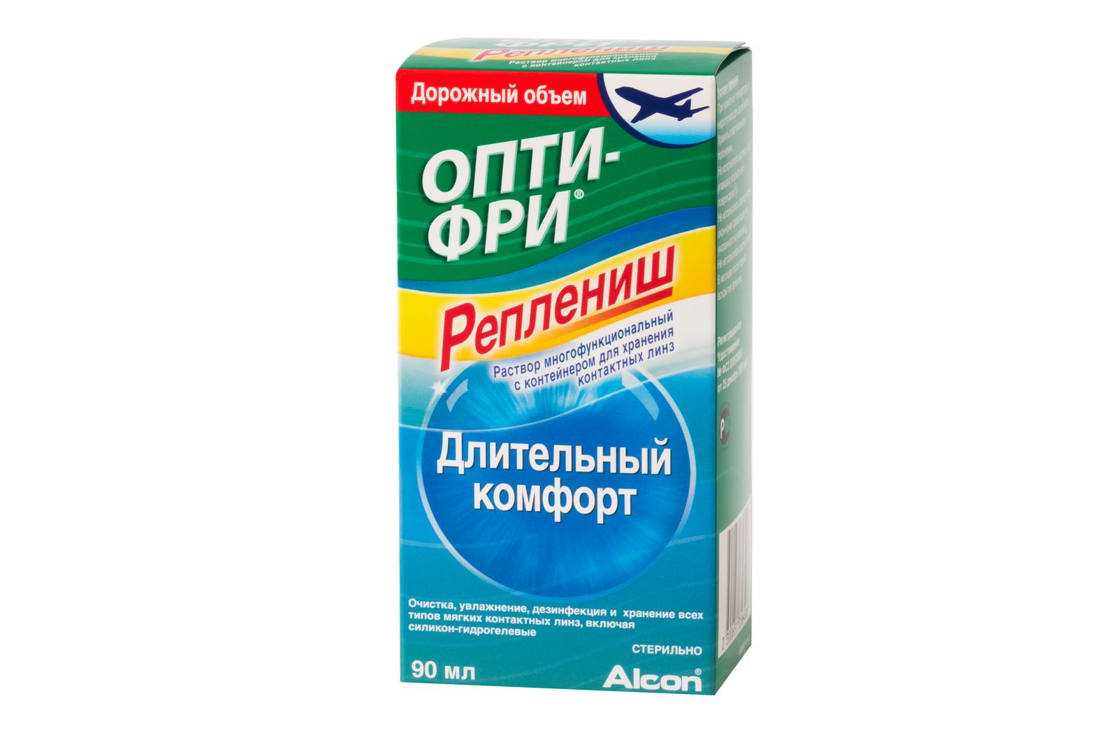 Купить Раствор Опти-Фри Реплениш 90 мл, Opti-Free
