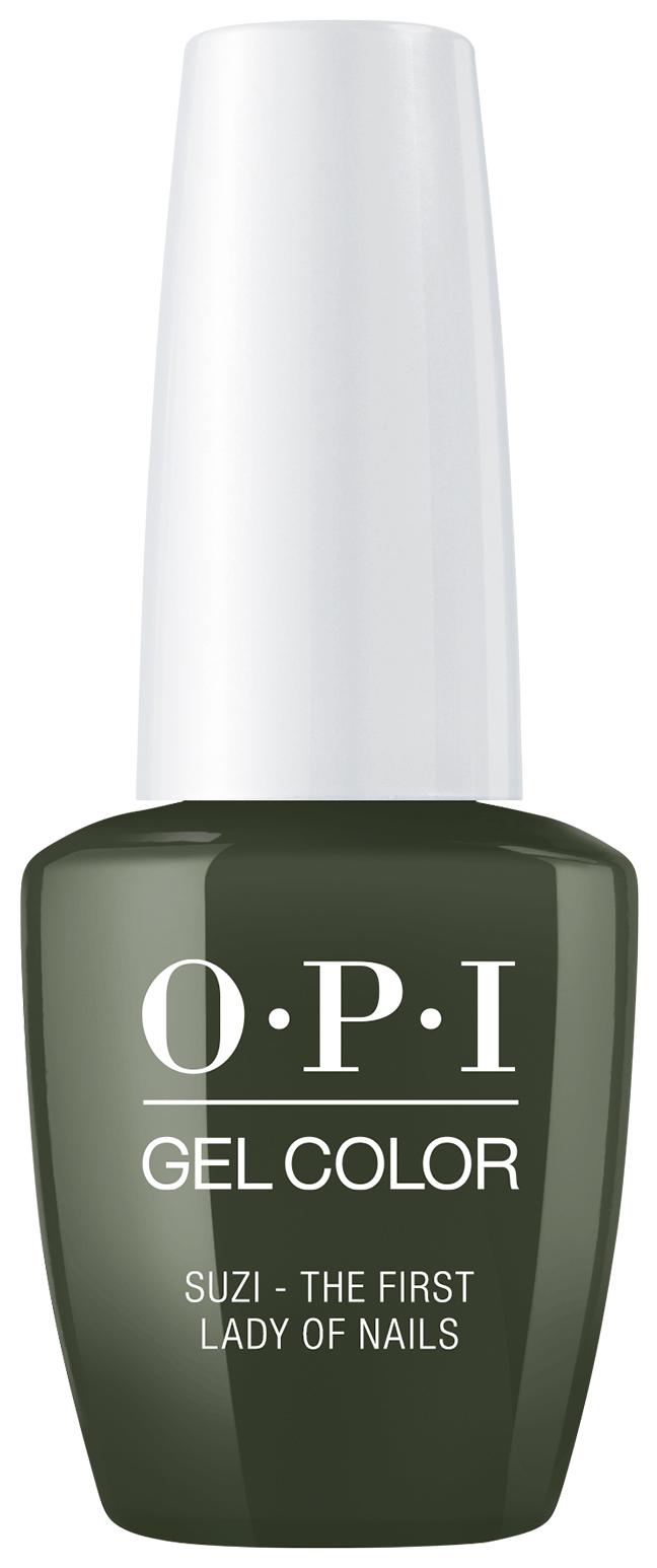Купить Гель-лак для ногтей OPI Classic GelColor Suzi - The First Lady Of Nails 15 мл