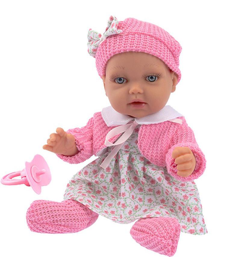 1 TOY Пупсик функциональный Baby Doll, 28 см, Т14113