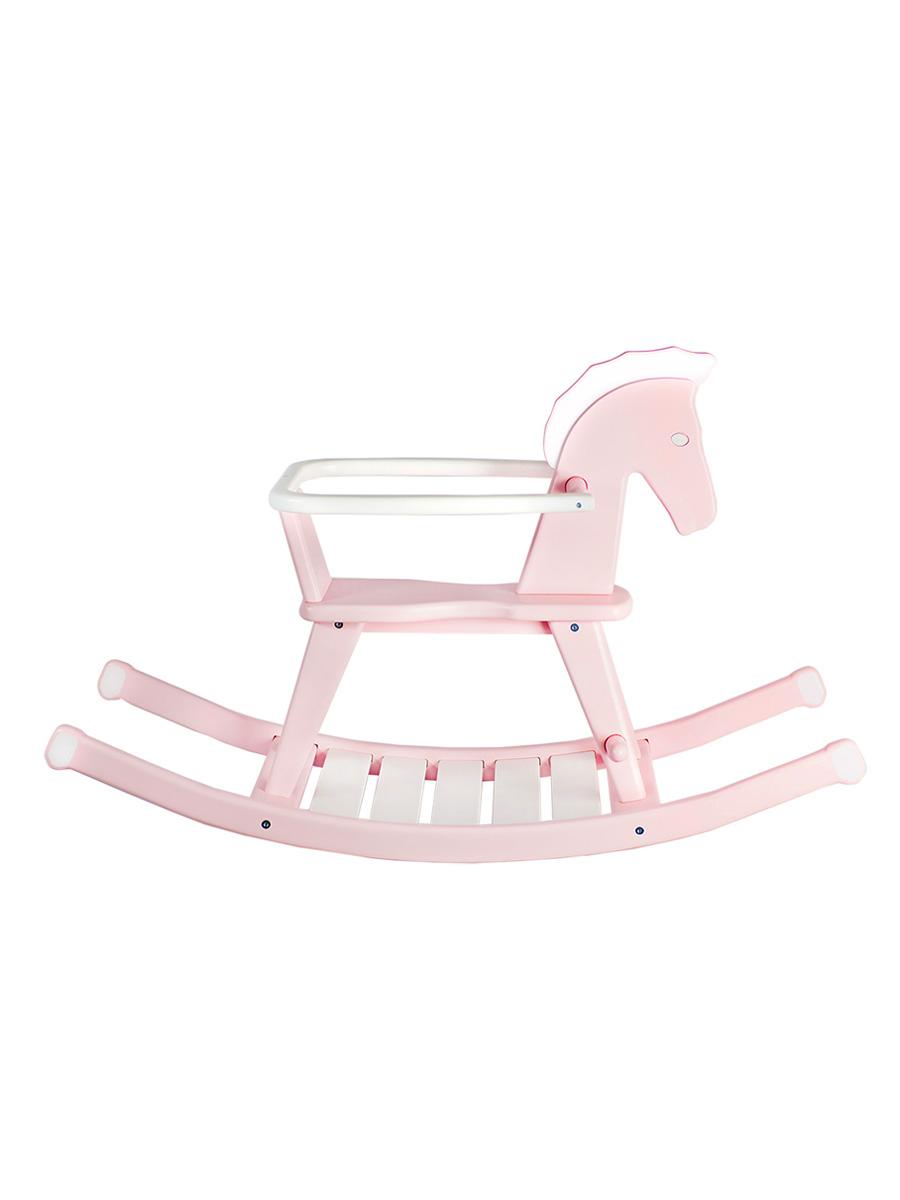 Купить Детская качалка ContinentDECOR лошадка розовый, Continent Decor, Качалки детские