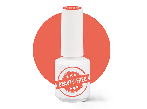 Купить Гель-лак для покрытия ногтей BEAUTY-FREE Spring Picnic №207 Мячик, 8 мл