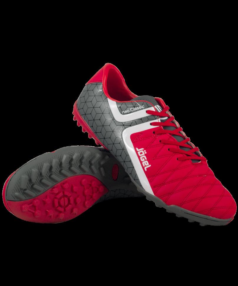 Футбольные бутсы Jogel Mondo JSH3002, красные, 45 EU