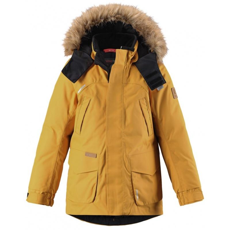 Купить Куртка Serkku REIMA Оранжевый р.128, Детские зимние куртки