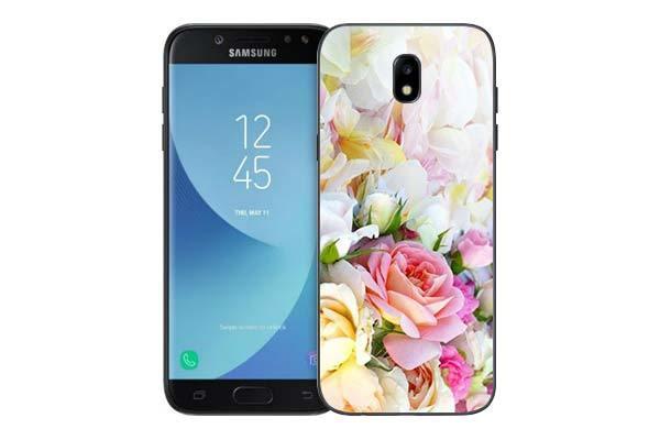 Чехол Gosso Cases для Samsung Galaxy J5 (2017) J530 «Нежные розы»