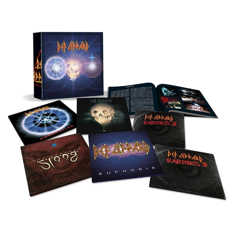 Def Leppard The Vinyl Collection: Volume Two (Limited Edition Box Set)(10LP) по цене 21 700