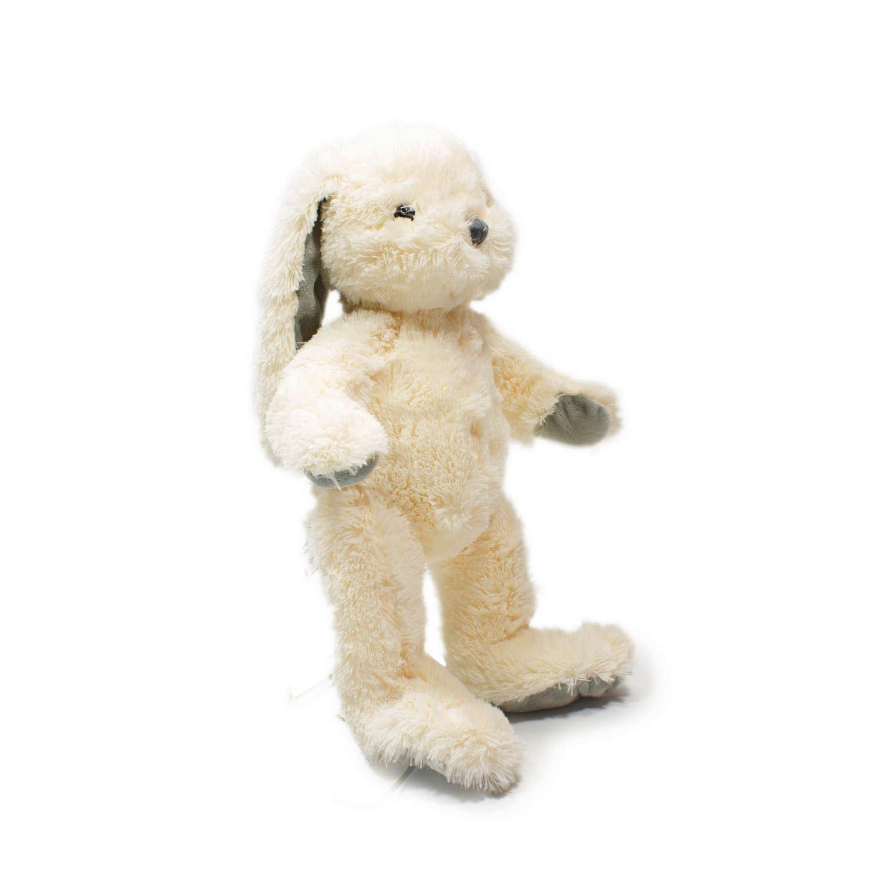 Мягкая игрушка Teddykompaniet Кролик Нина, кремовый, 18 см,2818