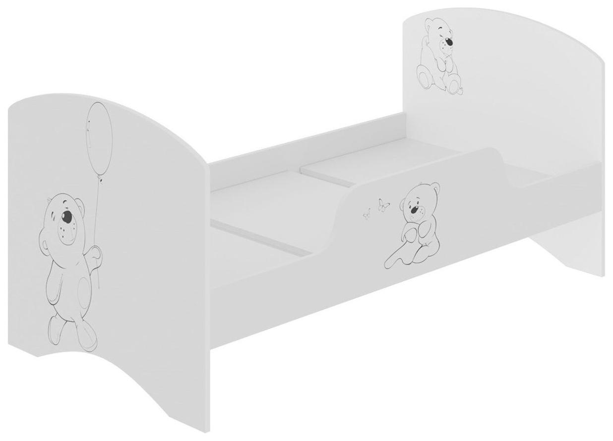 Детская кровать Hoff Сказка Монохром