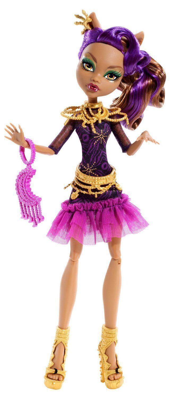 Купить Кукла Monster High Клодин Вульф - Страх, камера, мотор! BDF26, Куклы Monster High