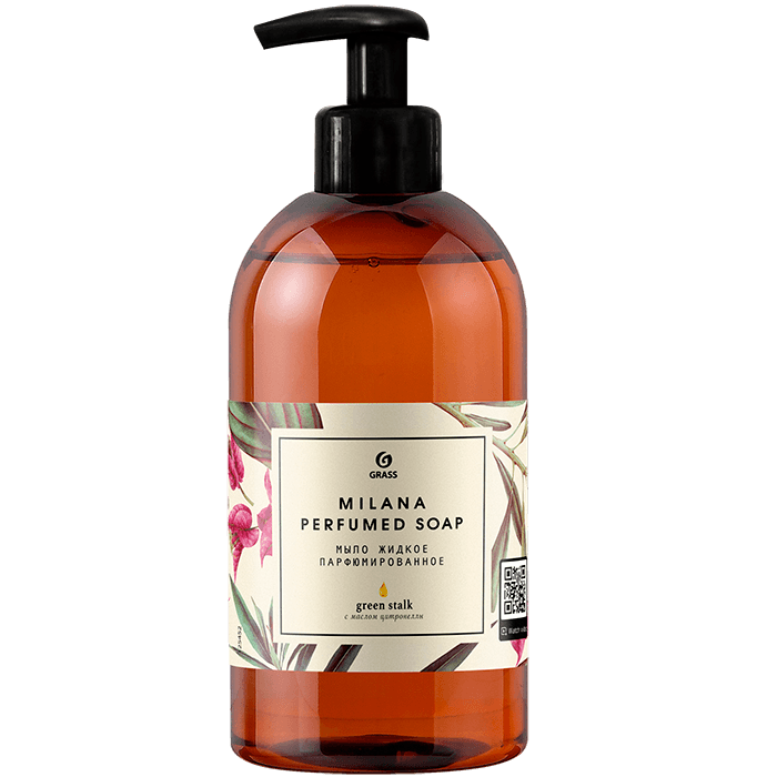 Жидкое мыло парфюм GRASS Milana Green Stalk