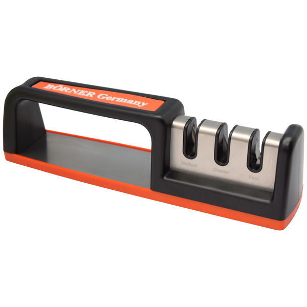 Точилка для ножей Borner трехзонная 3300286