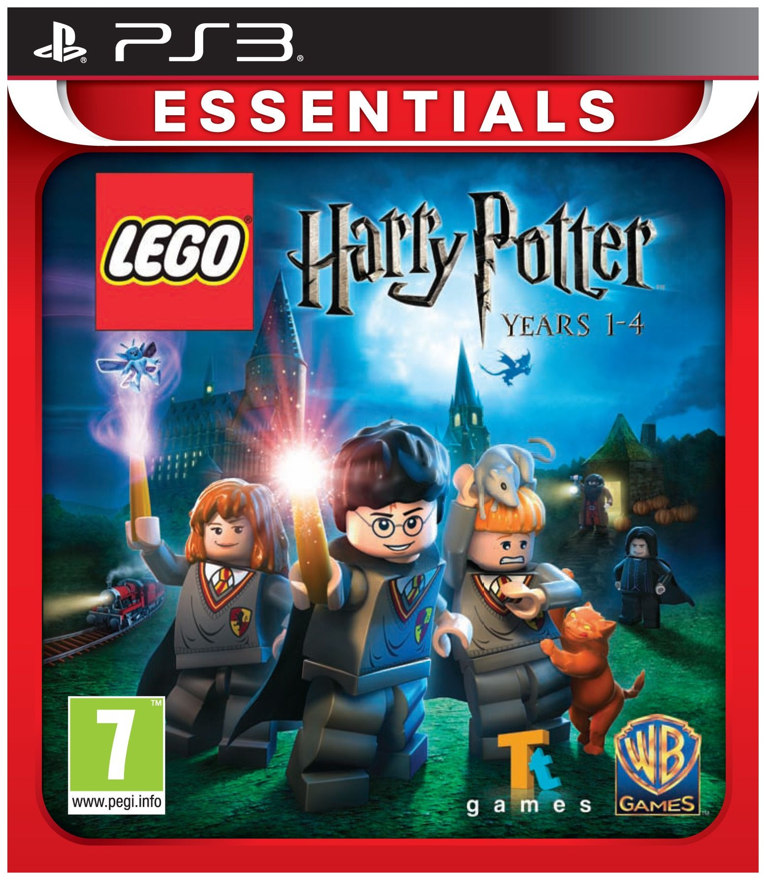 WARNER BROTHERS LEGO HARRY POTTER: YEARS 1-4 ESSENTIALS