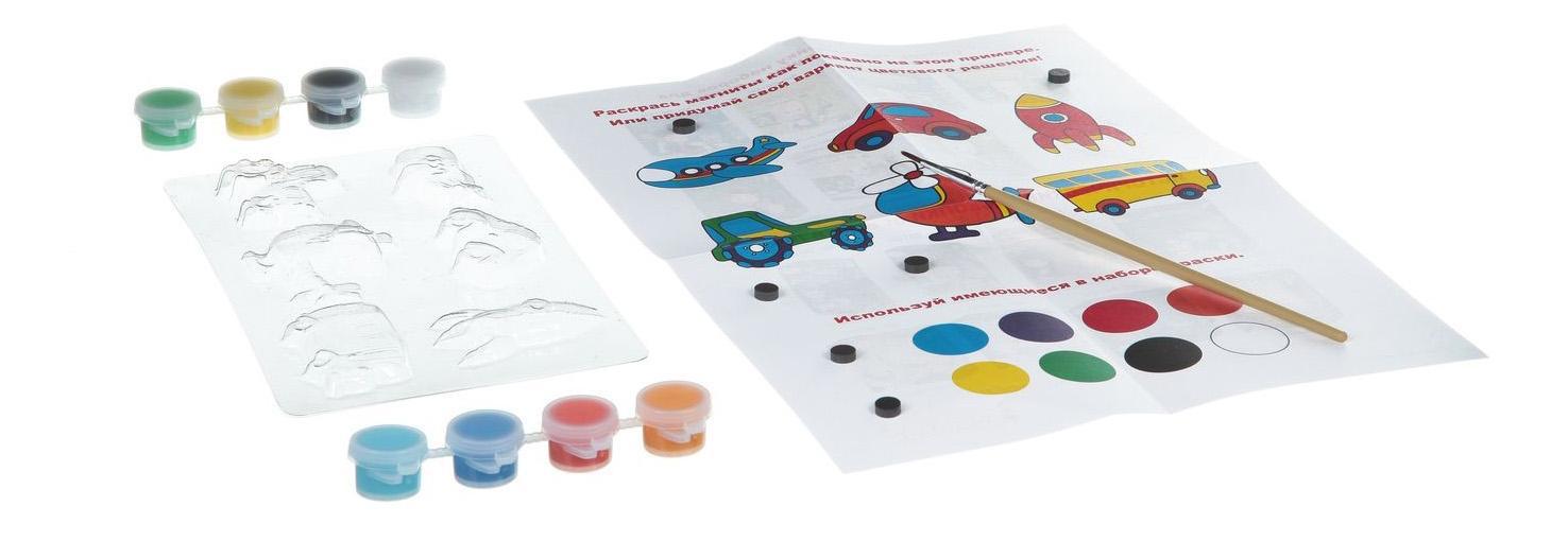 Купить Набор для творчества Bondibon магниты из гипса вв1434, Рукоделие