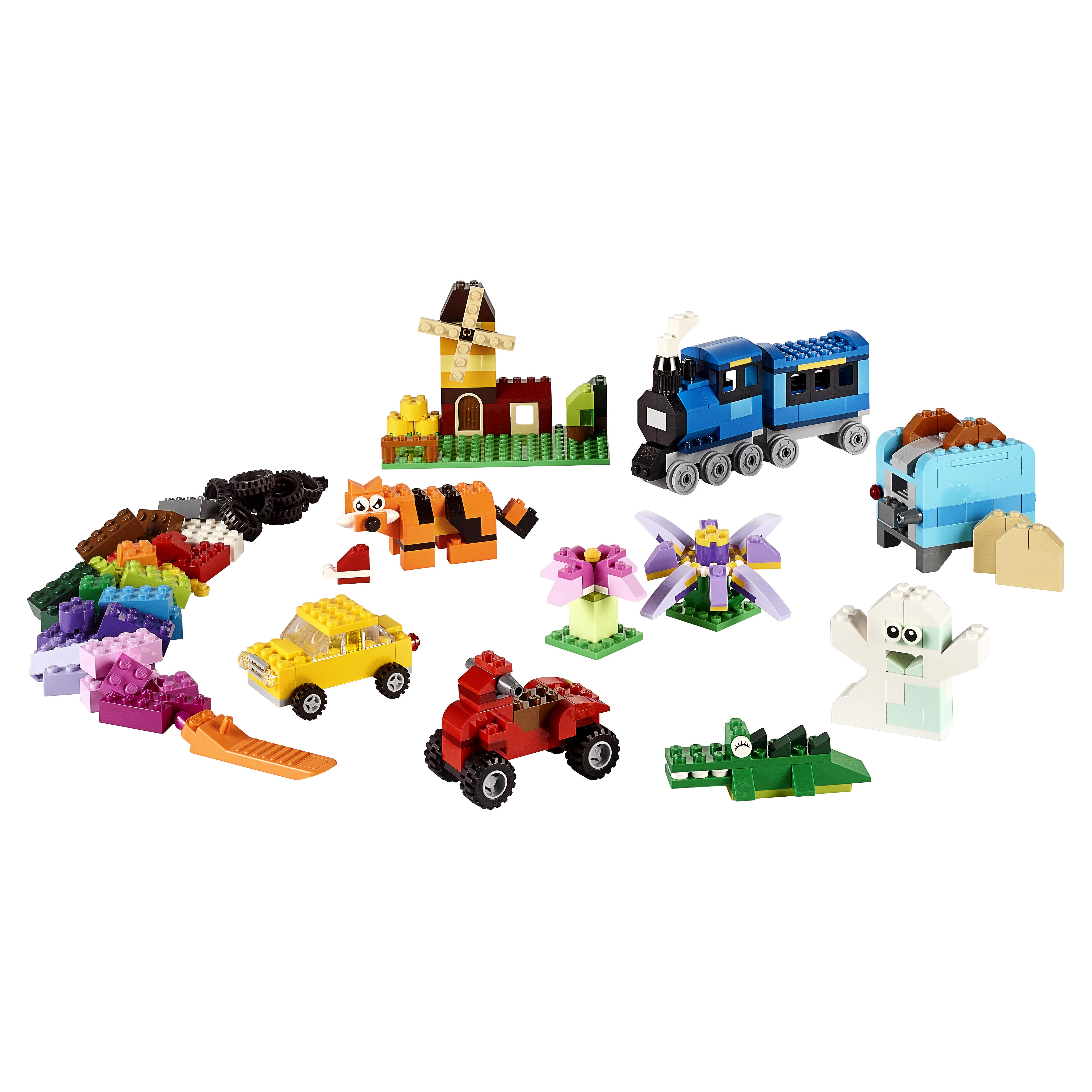 Купить Конструктор lego classic набор для творчества среднего размера 10696, Конструктор LEGO Classic Набор для творчества среднего размера (10696), LEGO для девочек