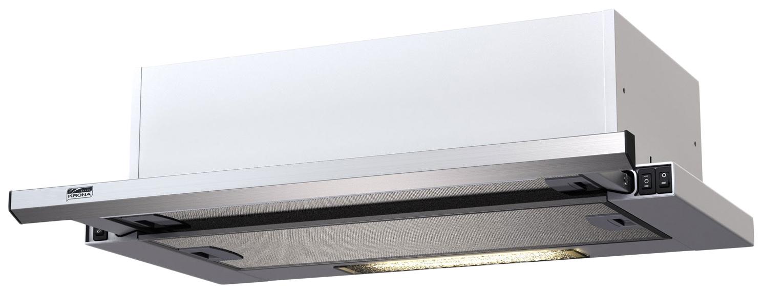Вытяжка встраиваемая Krona Kamilla Slim 500 Silver