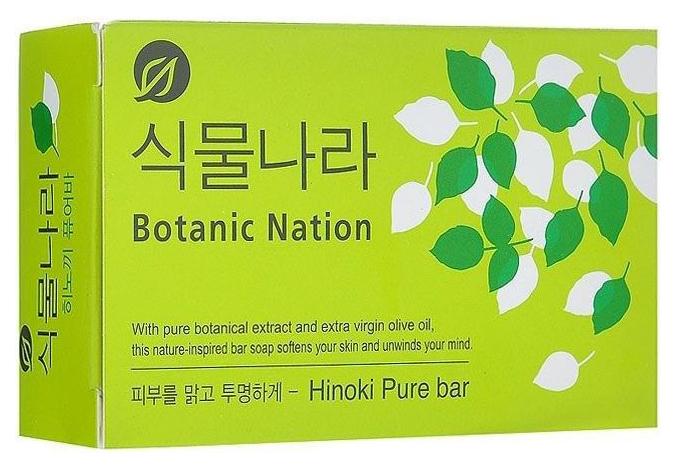 Косметическое мыло CJ Lion Botanical Nation экстракт японского