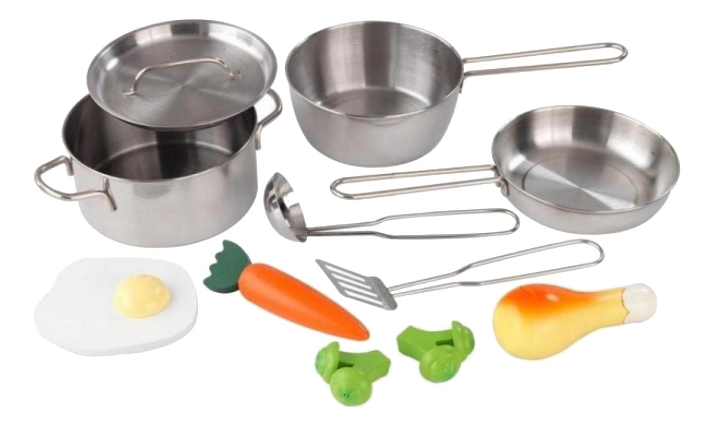 Набор посуды игрушечный KidKraft Игрушечная посуда серый