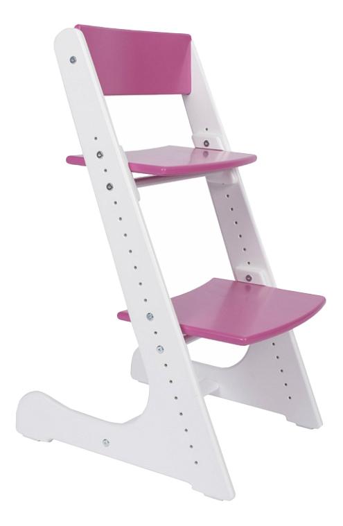 Купить Растущий, Стул Конек Горбунек растущий бело-розовый, Детские стульчики