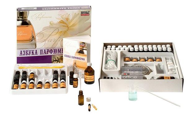 Набор для исследования Научные развлечения Азбука парфюмерии