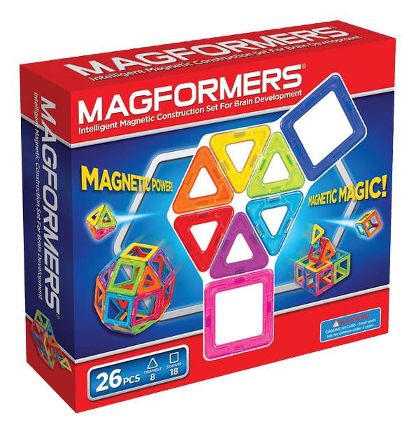 Купить Magformers 26, Конструктор магнитный Magformers Магнитный 26 деталей, Магнитные конструкторы