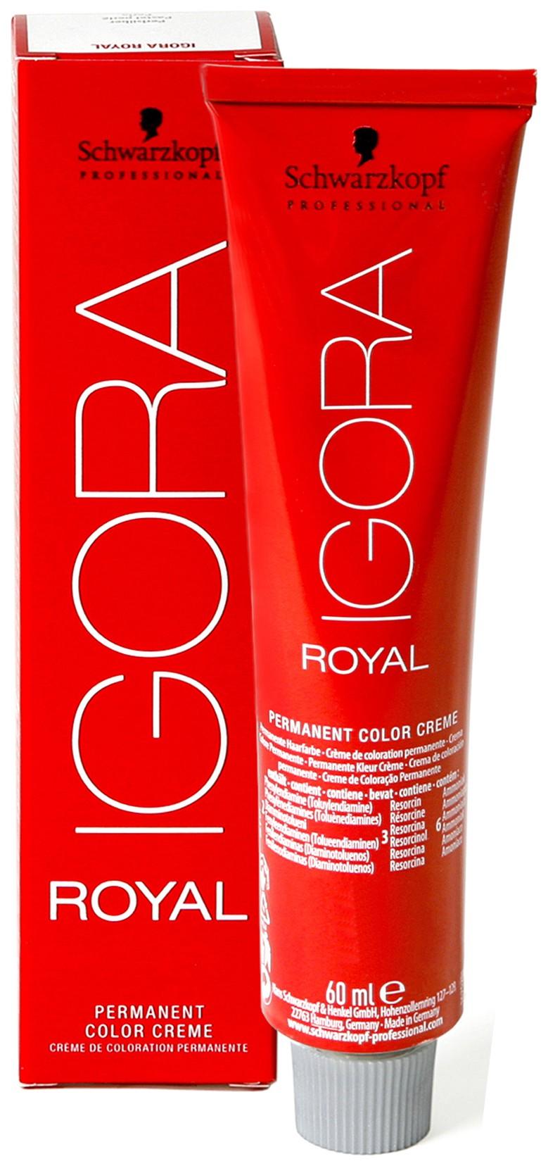 Краска для волос Schwarzkopf Igora Royal 4-65 Средний шоколадный золотистый 60мл