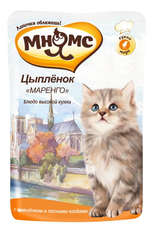 Влажный корм для котят Мнямс Блюда высокой