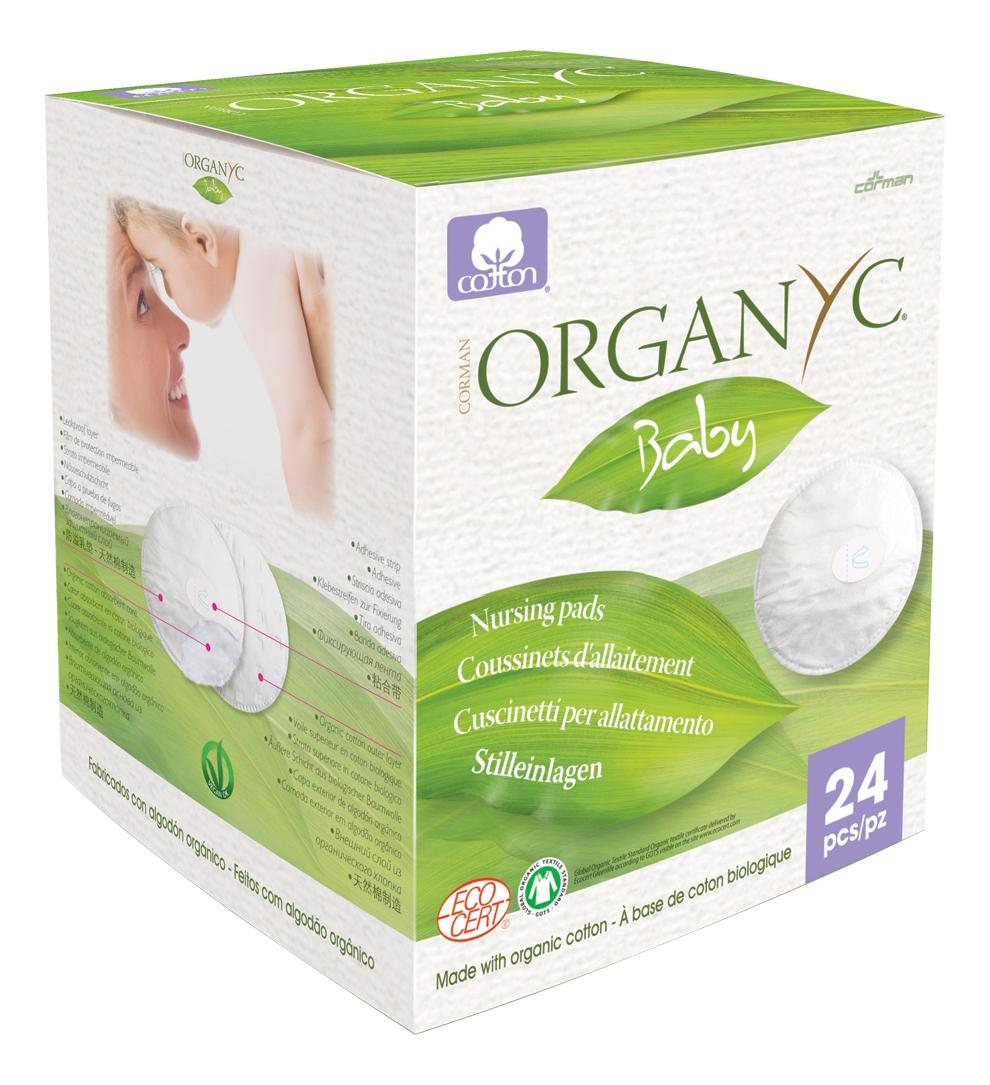Прокладки для груди Organyc Baby для груди 24 шт. фото