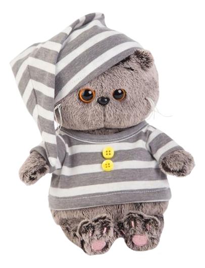 Мягкая игрушка BUDI BASA BB-018 Басик BABY в пижамке, 20 см фото
