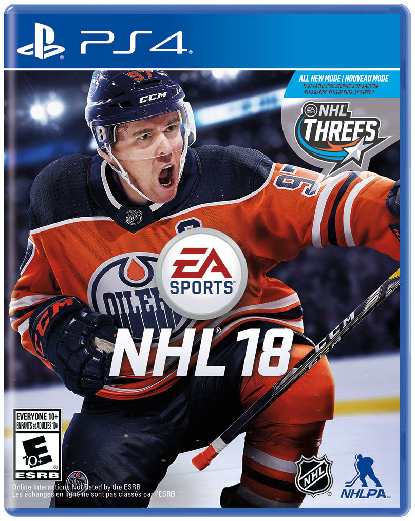 Игра NHL 18 для PlayStation 4