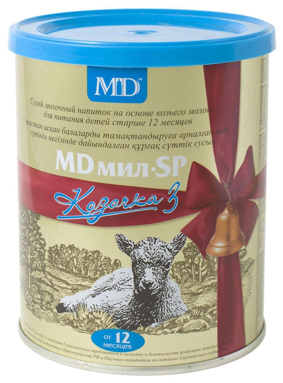 Смесь на основе козьего молока MD мил SP Козочка 3 от года 400 г