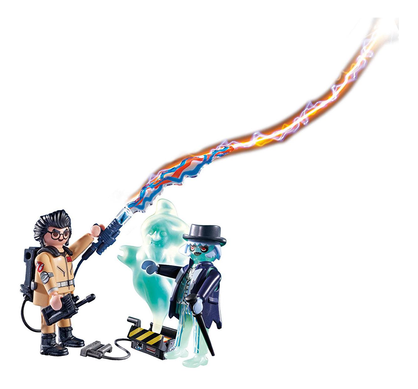 Игровой набор Playmobil PLAYMOBIL Охотники за привидениями: Игон Спенглер и привидение фото