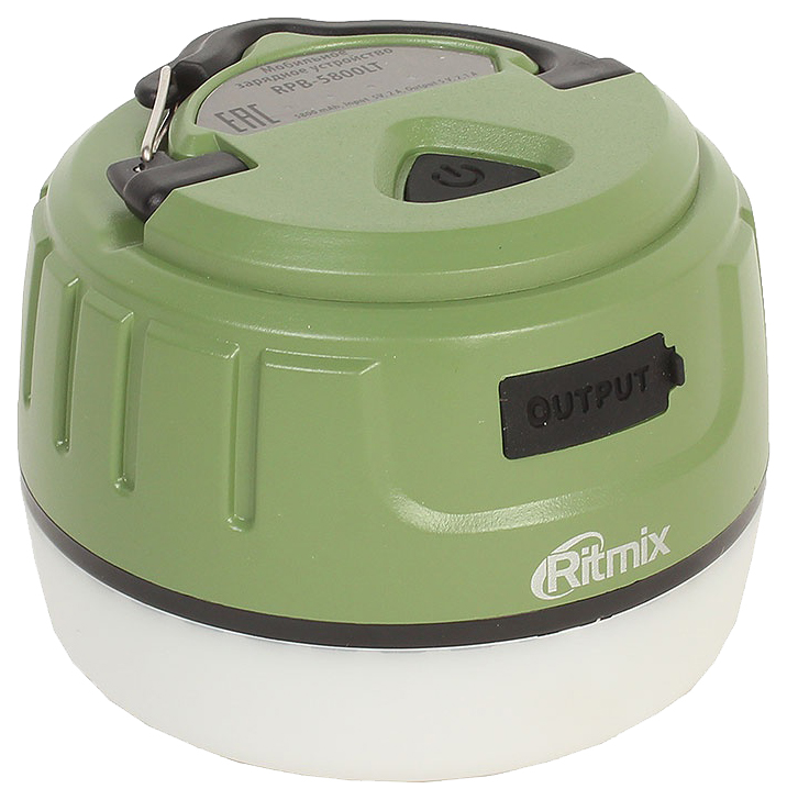 Внешний аккумулятор Ritmix RPB-5800LT 5800 мА/ч Green фото